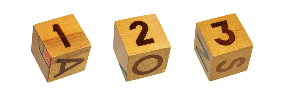 123RF arba kas moka skaičiuoti iki trijų