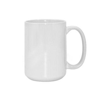 Baltas puodelis milžinas