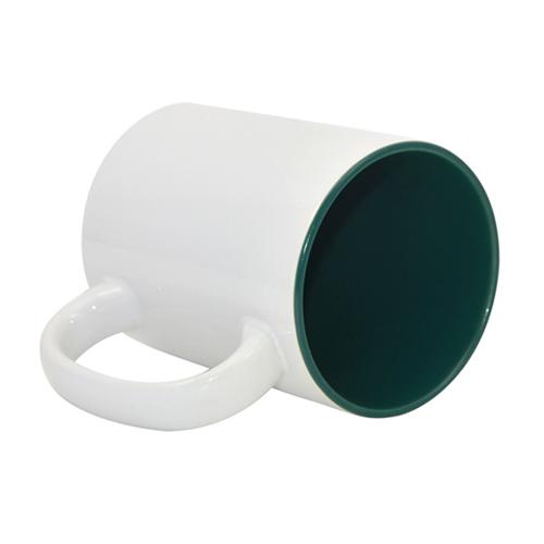 Gulintis didelis puodelis žaliu vidumi